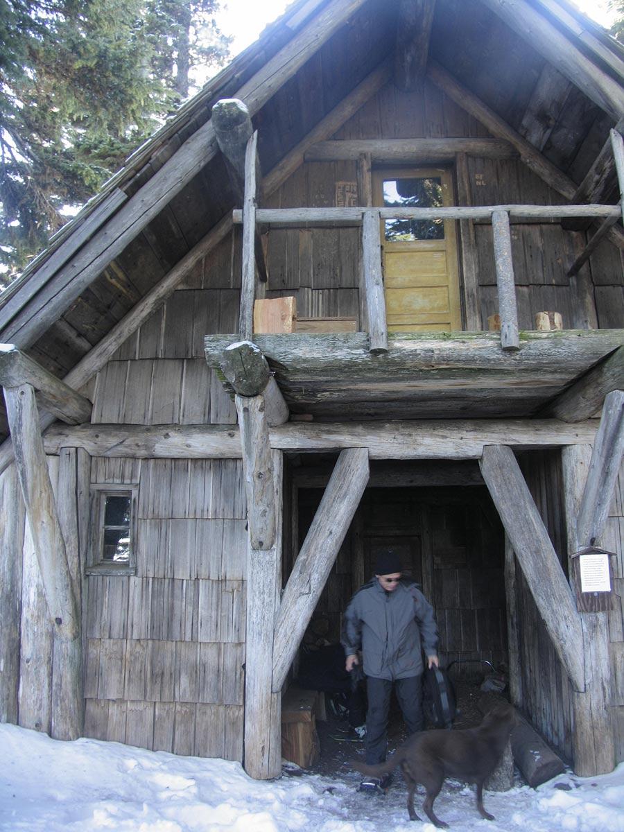 Tilly Jane Snowshoe 11/28/09 - Oregon Hikers