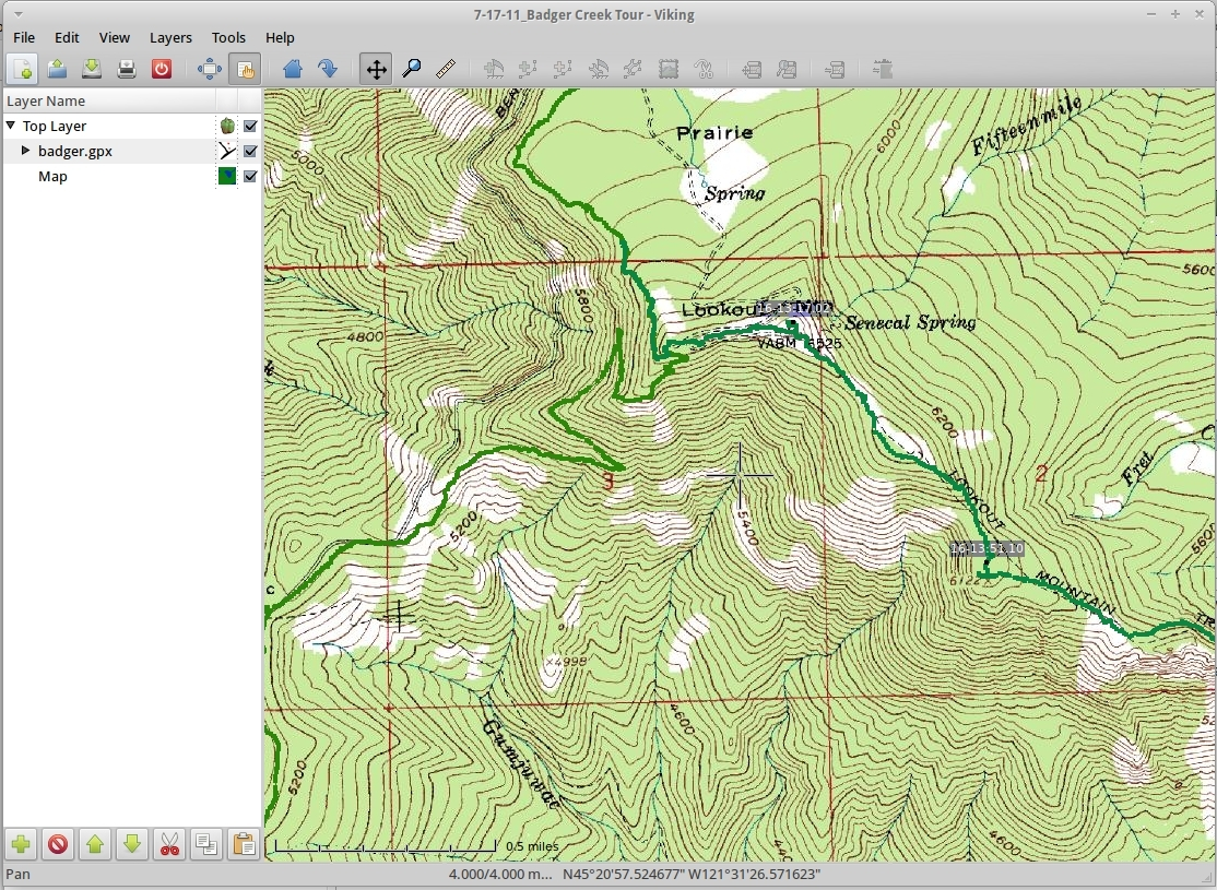 Open Source Topo Map Gps Software Oregon Hikers