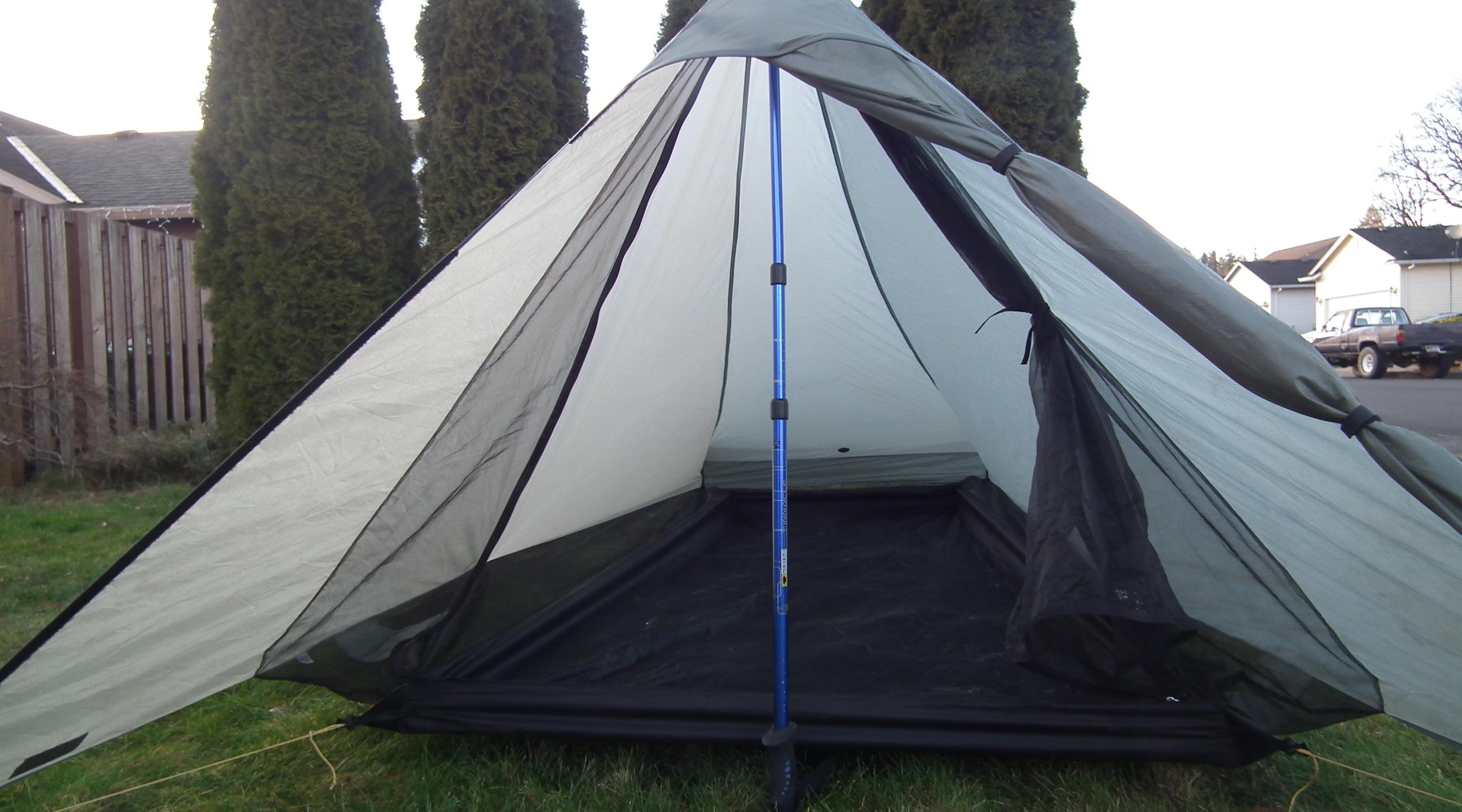 diy cuben fiber tent - oregon hikers