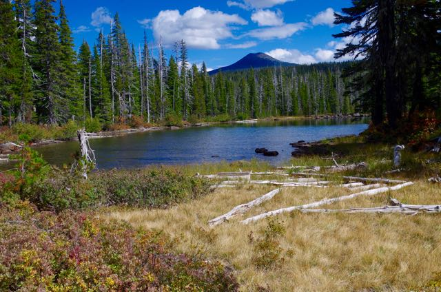 Sheep Lake and Olallie Butte
