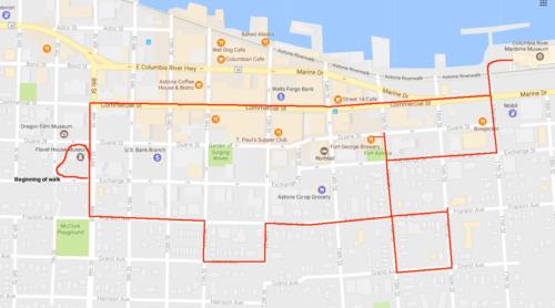 Historic Astoria Loop Hike Hiking In Portland Oregon And Washington
