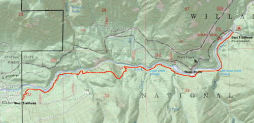 Little North Santiam Hike - Hiking in Portland, Oregon and