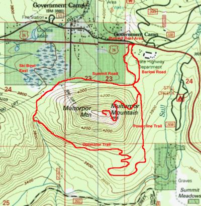 Multorpor Mountain Loop Hike - Hiking in Portland, Oregon