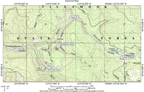 Wolf Creek Trestle Hike   Hiking in Portland, Oregon and Washington