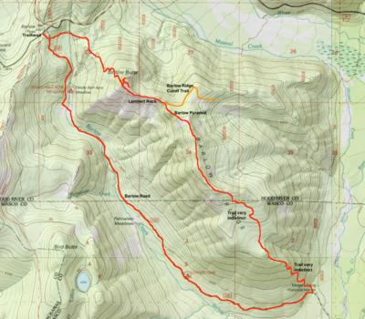 Barlow Ridge Loop Hike Hiking in Portland Oregon and Washington