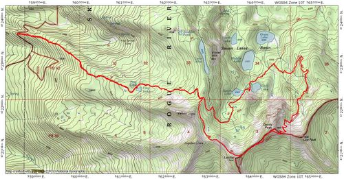 Devils Peak Loop Hike - Hiking in Portland, Oregon and ... on mt. mitchell trail, castle rock trail, alaska trail, slick rock trail, boundary peak trail, black mountain trail, redwood creek trail, mount juneau trail, niagara gorge trail, camelback mountain trail,