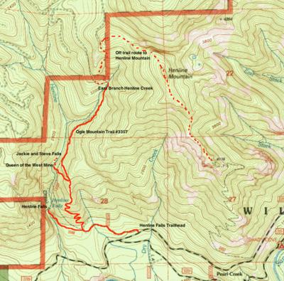 Ogle Mountain Trail Hike Hiking in Portland Oregon and Washington