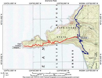 Gallery For Gt Cape Lookout Map