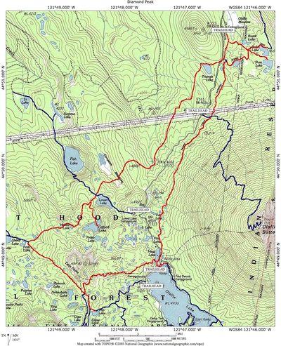 Oregon Lakes Map Images Cascade Lakes Scenic Byway Oregon - Map of oregon lakes