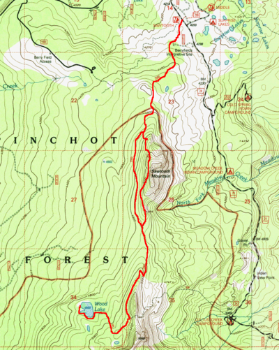 Mount St Helens Mount Adams Gifford Pinchot National Forest National Geographic Trails Illustrated Map