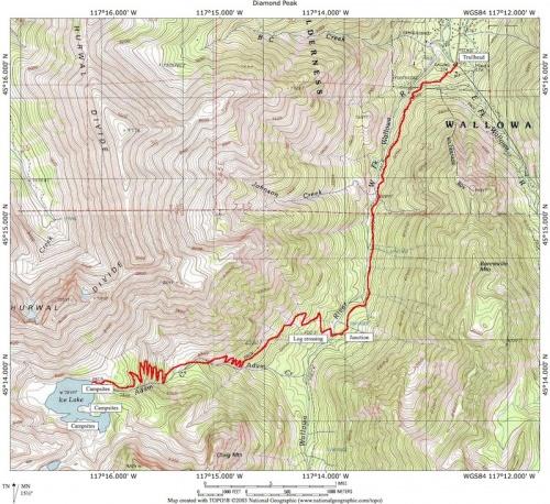 Ice Lake Hike Hiking In Portland Oregon And Washington - Oregon hiking trails map