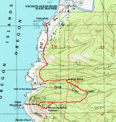 Amandas Trail Hike Hiking In Portland Oregon And Washington - Oregon hiking trails map