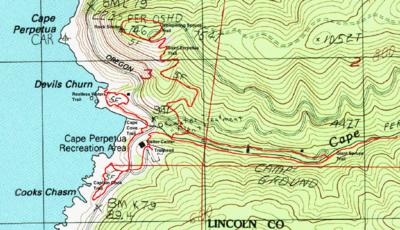 Cape Perpetua Hike  Hiking In Portland Oregon And Washington