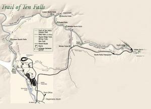 trail of ten falls loop hike hiking in portland oregon