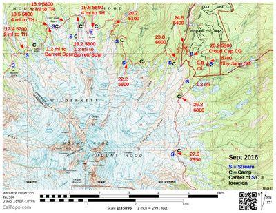 Timberline Trail around Mount Hood Hike - Hiking in Portland, Oregon ...
