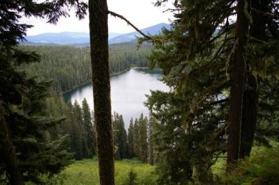 Fish lake si lake hike hiking in portland oregon and for Fish lake oregon