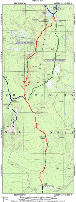 Tombstone Lake via the PCT Hike - Hiking in Portland, Oregon and ...