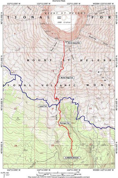 Mount Saint Helens Hike Hiking In Portland Oregon And Washington
