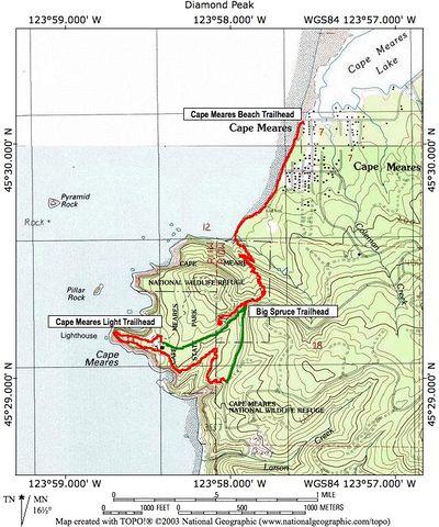 Cape Meares Hike   Hiking in Portland, Oregon and Washington