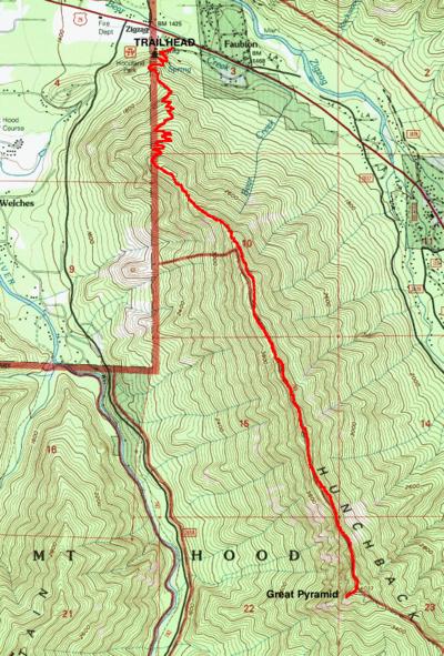 Hunchback Mountain Hike Hiking In Portland Oregon And Washington