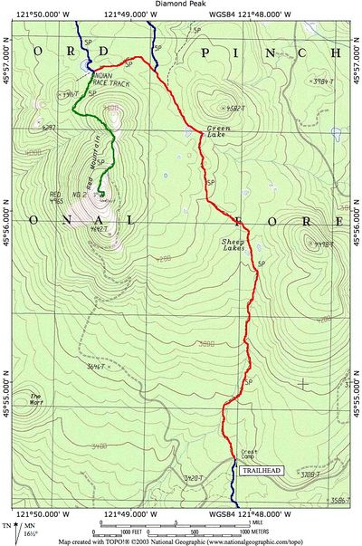 Indian Racetrack via the PCT Hike - Hiking in Portland ...
