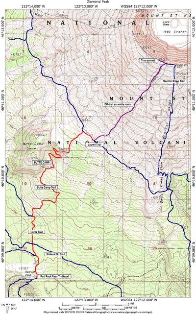 Mount Saint Helens via Butte Camp Hike - Hiking in Portland
