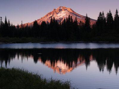 Mirror Lake Hiking In Portland Oregon And Washington