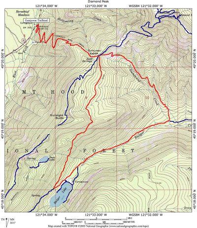 GumjuwacBadger Lake Loop Hike Hiking in Portland Oregon and